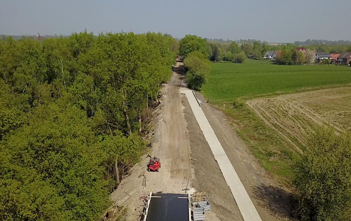 Aus Bahntrasse wird ein Radweg