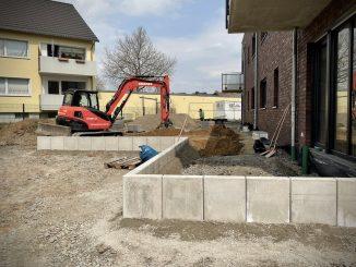 Baustelle Großer Kamp